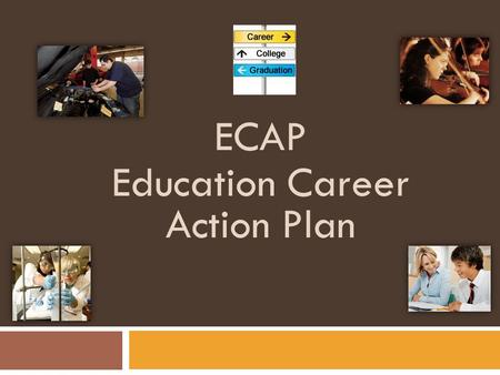 ECAP Education Career Action Plan. What are your postsecondary plans?! College Road Trip-video clip  /
