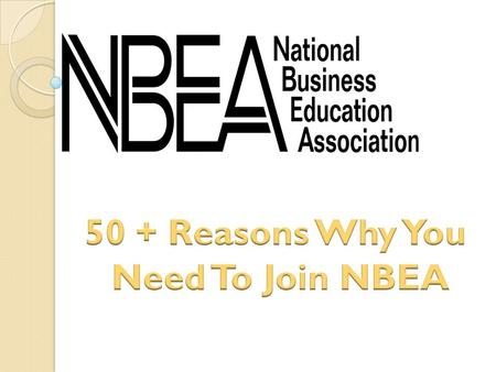 Four issues of NBEAs premier journal, Business Education Forum.