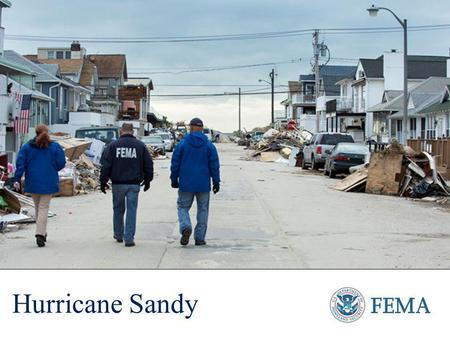 Hurricane Sandy. Sandy was the second-largest Atlantic storm on record Storm surge reached over 13 feet in coastal areas of New York and New Jersey The.
