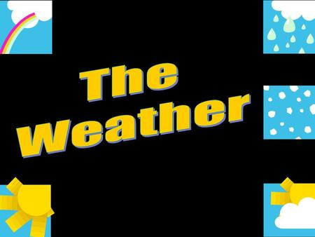 ESOL Entry 1 – The Weather