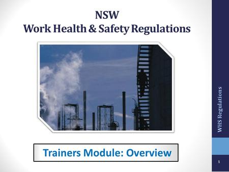 NSW Work Health & Safety Regulations