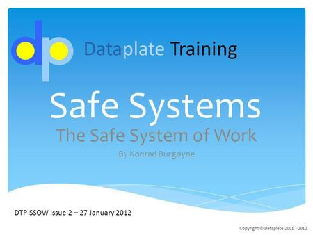 safe system of work Safe work systems in the workplace it is important to implement systems to ensure your staff's safety in the workplace this includes procedures for staff working early and leaving late and for staff working at night, alone or in isolation, who are exposed to a higher safety risk.