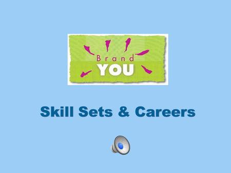 What are SKILL SETS? Why are they important to know?