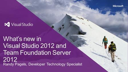 What's new in Visual Studio 2012 and Team Foundation Server 2012