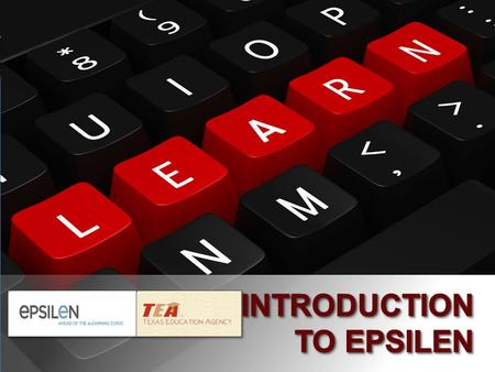 1. 2 Objectives Become familiar with the purpose and features of Epsilen Learn to navigate the Epsilen environment Develop a professional ePortfolio on.