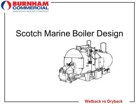 Scotch Marine Boiler Design