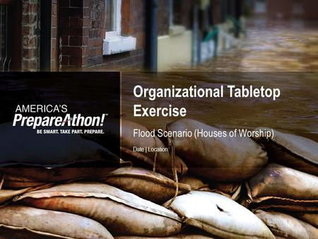 Organizational Tabletop Exercise