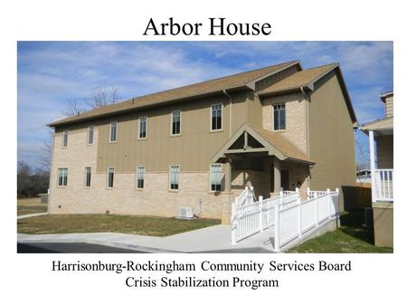 Arbor House Harrisonburg-Rockingham Community Services Board