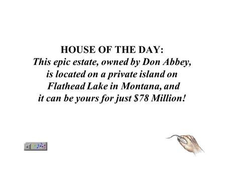 HOUSE OF THE DAY: This epic estate, owned by Don Abbey, is located on a private island on Flathead Lake in Montana, and it can be yours for just $78.