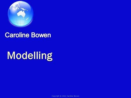 Copyright © 2011 Caroline Bowen. Part of their speech and language development is innate. Part of it is learned through the modelling of people around.