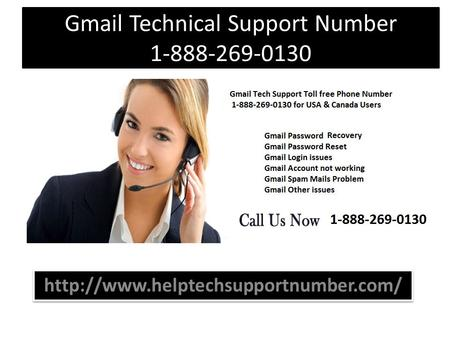 Gmail Technical Support Number 1-888-269-0130