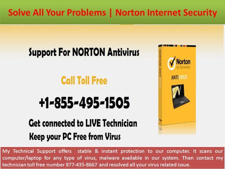 Solve All Your Problems | Norton Internet Security