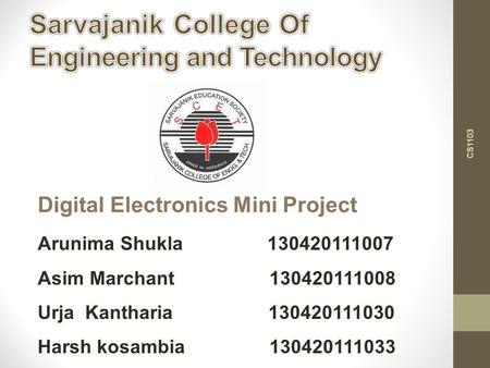 Digital Electronics Lecture 7 Sequential Logic Circuit Design. - ppt ...