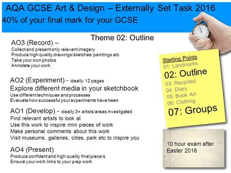 Igcse Art Design Fine Art Mock Exam Ppt Video Online
