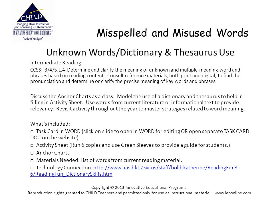 Misspelled And Misused Words Unknown Words Dictionary Thesaurus Use Intermediate Reading Ccss 3 4 5 L 4 Determine And Clarify The Meaning Of Unknown Ppt Download Find another word for desperate. misused words unknown words dictionary