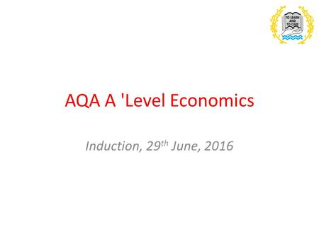 Economics B AS and A-Level - ppt video online download