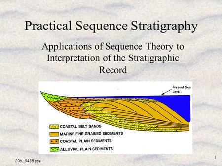 Practical Sequence Stratigraphy