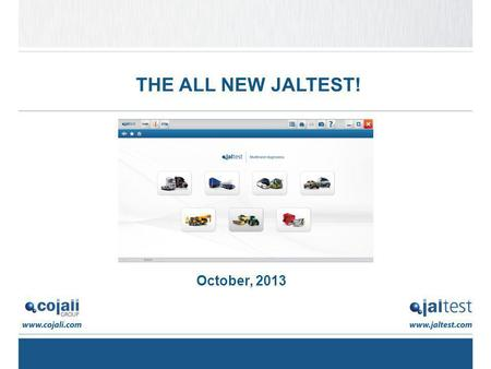 THE ALL NEW JALTEST! October, 2013.