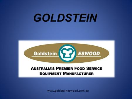 GOLDSTEIN www.goldsteineswood.com.au. BRATT PANS 3 sizes available in GAS and ELECTRIC gas models still require 10 Amp plug for electric tilt duplex s/s.