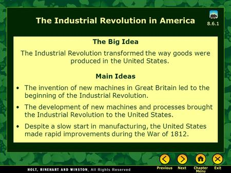 how did the industrial revolution transformed the textile industry