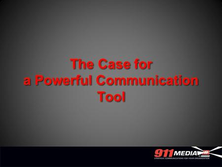 The Case for a Powerful Communication Tool. Why the need for a publication? Image build and visibility Communication Influential.