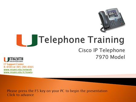 Cisco IP Telephone 7970 Model