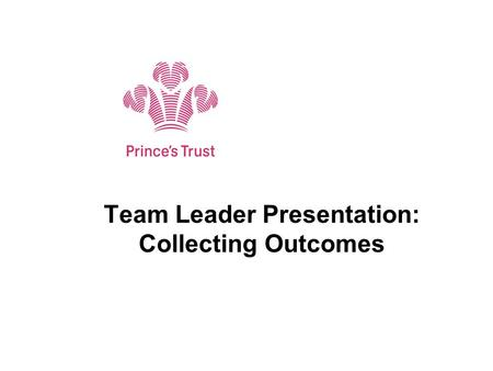 Team Leader Presentation: Collecting Outcomes. Introduction The Changes: Three month outcome form no longer in use Hard outcomes collected by text message.
