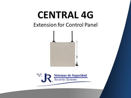 The central 4G can work complementary as an extension of any other Control Panel of the market, through the use of this mode we could get the following.