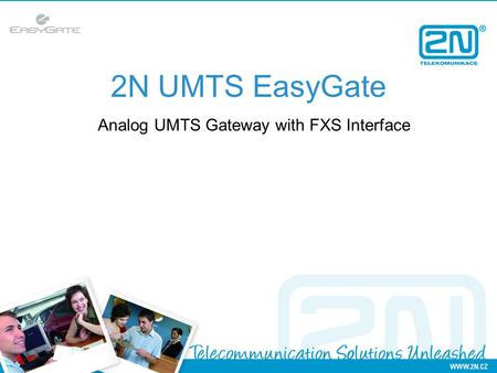 2N UMTS EasyGate Analog UMTS Gateway with FXS Interface.