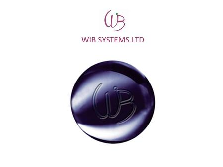 WIB SYSTEMS LTD. WIB SYSTEMS WIB Systems Ltd is providing a comprehensive coverage under a single roof in the areas of advice and guidance, development,