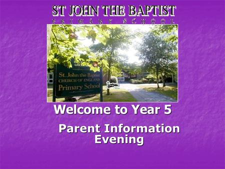 Welcome to Year 5 Parent Information Evening Class Teachers 5K - Miss Kirby 5K - Miss Kirby 5S - Mrs Sands 5S - Mrs Sands.