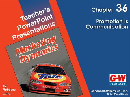 Ch. 36, Promotion Is Communication