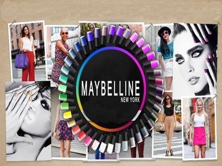 Profile of Maybelline T.L. Williams founded the Maybelline company in 1915 and introduced Maybelline Cake Mascara. In 1996, Maybelline was acquired by.