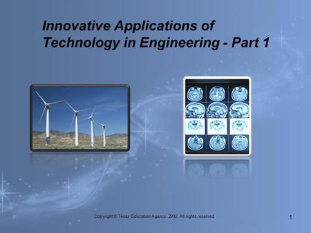 Innovative Applications of Technology in Engineering - Part 1