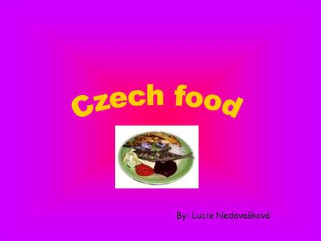 By: Lucie Nedavašková. Roast duck with red cabbage and potato dumplings.