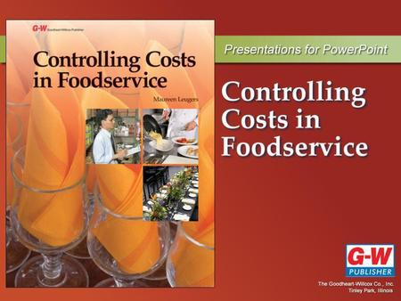 Principles of Control in a Foodservice Operation