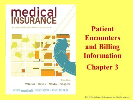 Patient Encounters and Billing Information Chapter 3