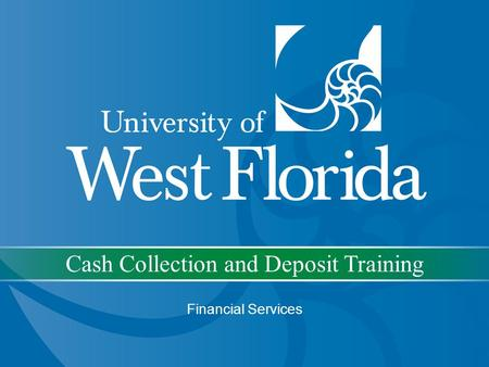 Cash Collection and Deposit Training Financial Services.