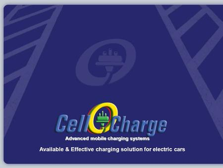 Available & Effective charging solution for electric cars Advanced mobile charging systems.