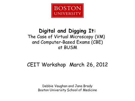 Digital and Digging It: