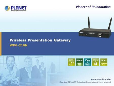Wireless Presentation Gateway