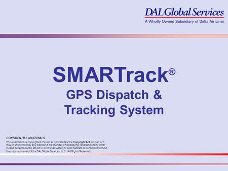 GPS Dispatch & Tracking System