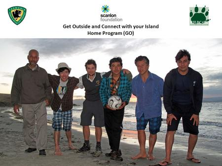 Get Outside and Connect with your Island Home Program (GO)