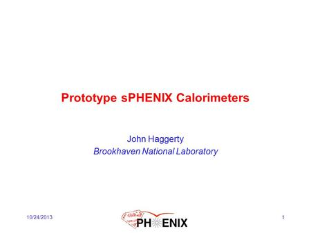 Prototype sPHENIX Calorimeters