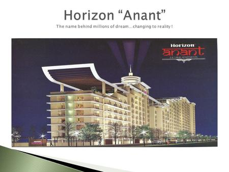 .. 2 BHK and 3 BHK Apartments with world class amenities.