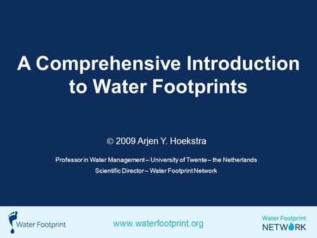 Water Footprints The Water Footprint Of An Individual Or Community Is Defined As The Total Volume Of Freshwater That Is Used To Produce The Foods And Ppt Download Water footprint calculator worksheet