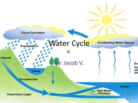 Water Cycle By: Jacob V..