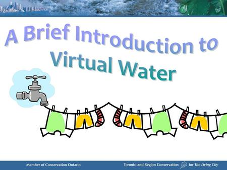 quantifies the water used in the production of a good or service concept was developed by Professor John Anthony Allan said to be virtual because once.