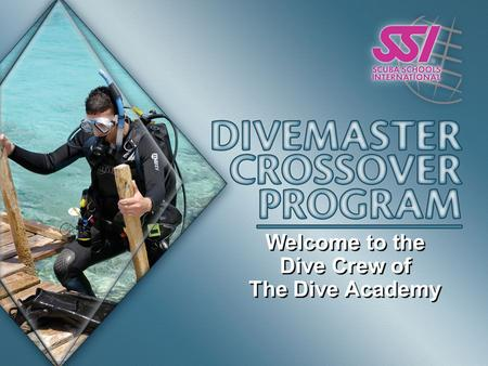 Welcome to the Dive Crew of The Dive Academy Welcome to the Dive Crew of The Dive Academy.