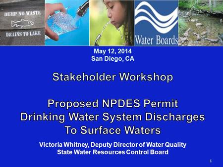 1 Dws Npdes Permit Enrollment Who Is Required To Enroll